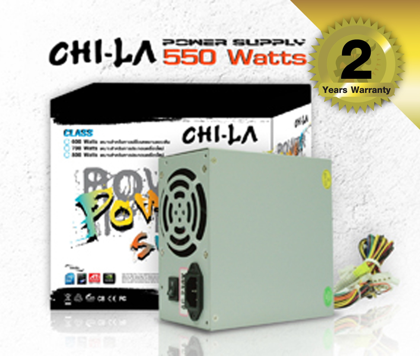 Power Supply CHI-LA 550W.